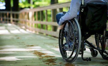 Wheelchair Møns Klint